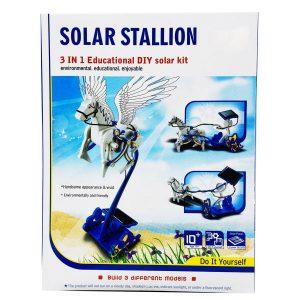 ساخت ٣ ربات خورشیدی اسب و ارابه
