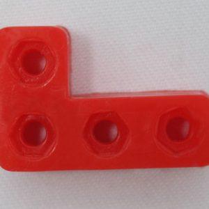 سازه پلاستیکی L4 ربات