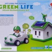 ربات خورشیدی زندگی سبز